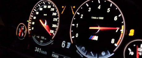 A dat peste cap vitezometrul. VIDEO cu un M6 care circula cu peste 340 km/h!
