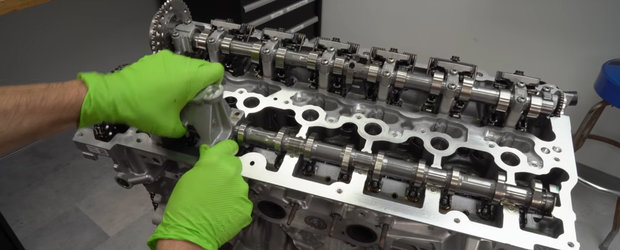 A desfacut in bucati motorul noii TOYOTA SUPRA. Vrea sa ajunga la 1000 CP cu internele stock
