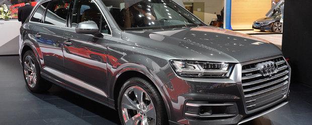 A doua generatie de Audi Q7 2016 a fost aratata lumii la Detroit