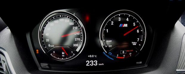 A dus BMW-ul M2 facelift pe autostrada si a calcat pedala de acceleratie. La cat s-a oprit acul vitezometrului