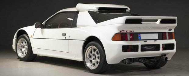 A facut istorie in Grupa B, iar acum poate fi a ta. Cu cat se vinde acest Ford RS200 EVO cu 600 de cai sub capota