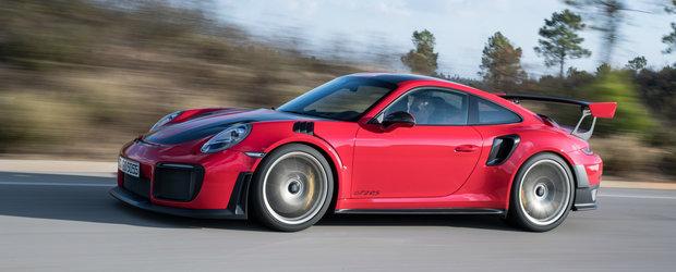 A facut praf un Porsche nou-nout, la cateva minute dupa ce l-a luat din showroom. Reparatia nu va fi deloc ieftina