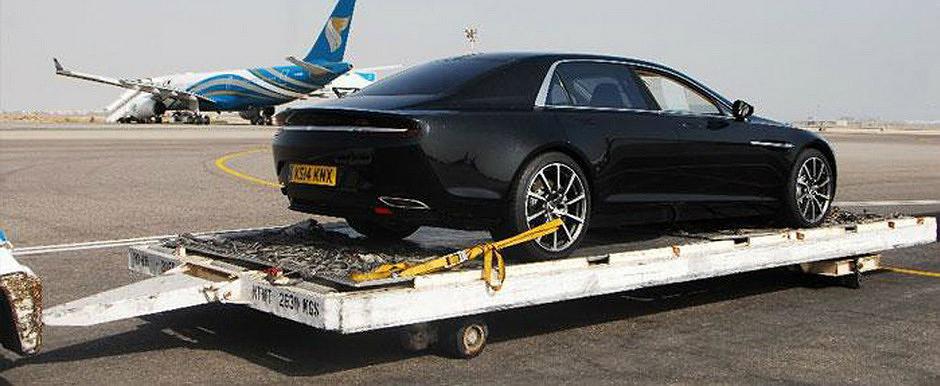 A FI sau A NU FI: Aston Martin Lagonda revine in noi imagini reale