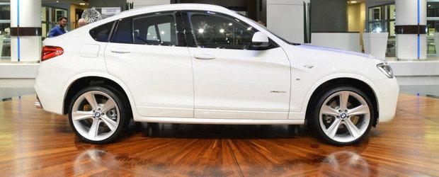 A fi sau a nu fi: BMW X4 cu pachet M, jante pe 21 inch si evacuare custom