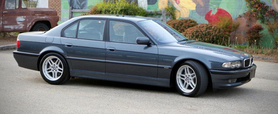 A fost bataie mare pe el. Pretul urias cu care s-a dat acest BMW Seria 7