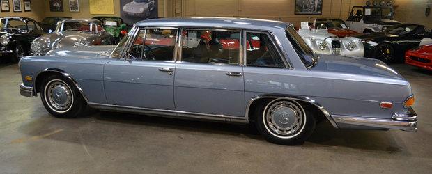 A fost candva cea mai luxoasa masina de pe strazi. Limuzina germana este acum de vanzare