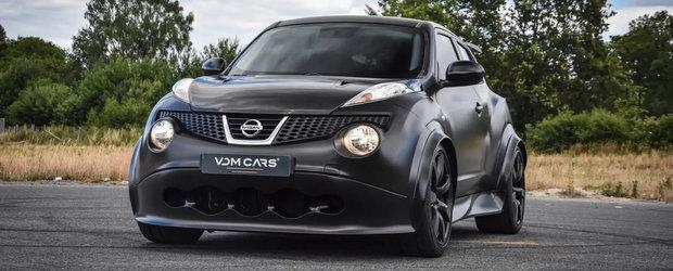 A fost candva cea mai nebuna masina de pe strazi. Cu cat se vinde azi un Nissan Juke-R cu motor si tractiune integrala de GT-R