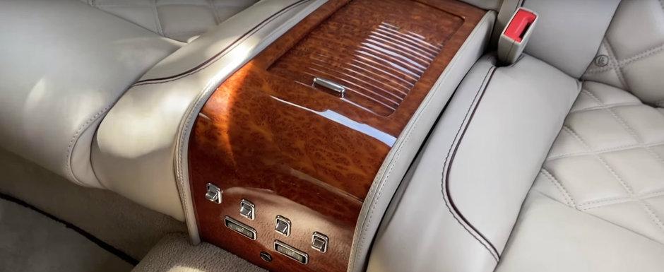 A fost candva cel mai opulent coupe de pe strazi. Modelul din 2009 are scaune individuale si motor cu 1.050 Nm