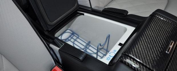 A fost candva cel mai opulent coupe de pe strazi. Modelul din 2012 are motor V12 twin-turbo si frigider care pastreaza sampania rece