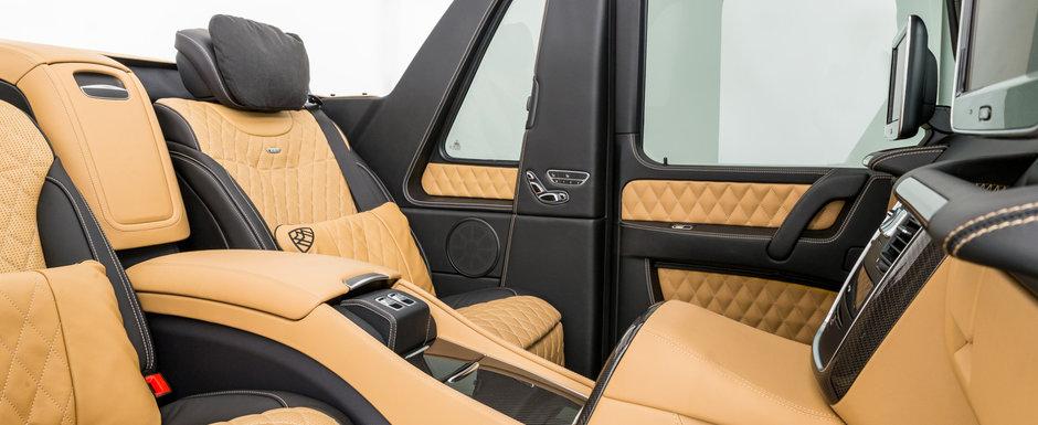 A fost candva cel mai opulent SUV de pe strazi. Modelul din 2018 are motor V12, plafon retractabil si frigider care tine sampania rece