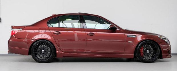 A fost candva cel mai rapid sedan de pe strazi. BMW-ul din 2010 are motor V10 cu doua compresoare si tocmai a fost scos la vanzare