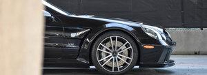 A fost candva cel mai spectaculos Mercedes de pe strazi. Modelul din 2009 are motor V12 de 661 CP si widebody din fabrica