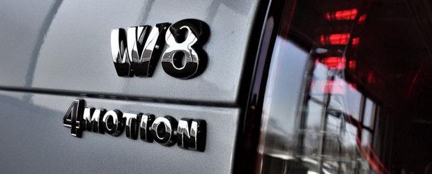 A fost candva cel mai tare Passat de pe strazi. Modelul din 2003 are motor W8 si tractiune integrala