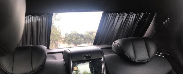 A fost cea mai luxoasa limuzina din lume. VIDEO cu masina care a pierdut 300.000 de dolari din valoare in 10 ani