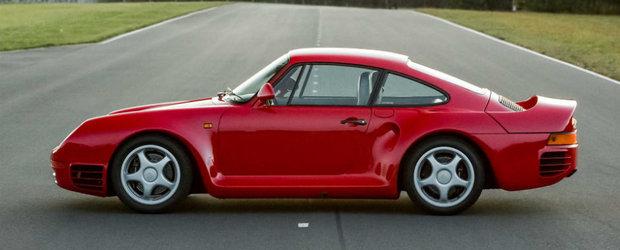 A fost cea mai rapida masina din lume la vremea ei, iar azi are un pret pe masura. Uite cu cat se da acest Porsche 959