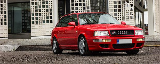 A fost construit cu Porsche si lansat ca primul break sportiv. Cu cat se vinde astazi un Audi RS2 Avant