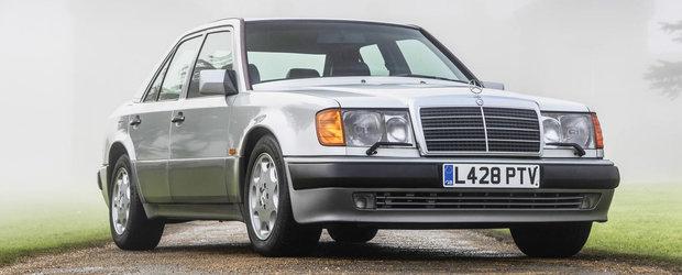 A fost construit manual de Porsche. Cu cat s-a vandut vechiul Mercedes 500E detinut de Mr. Bean