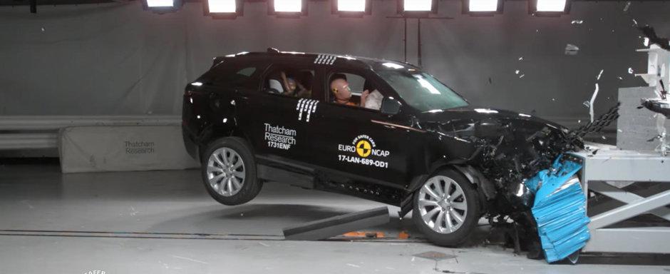 A fost izbit din toate partile, dar a rezistat. Noul Range Rover Velar primeste 5 stele la testele Euro NCAP