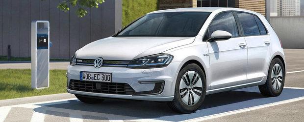 A fost lansat si in Romania. Cat costa noul Volkswagen Golf cu propulsie electrica