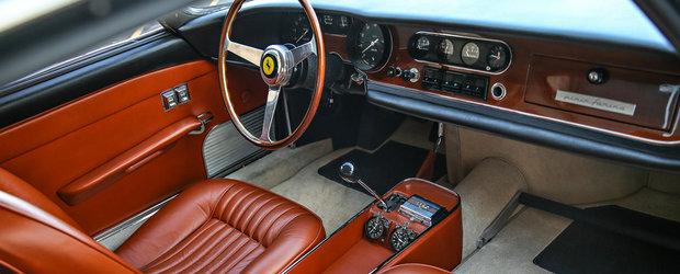 """A fost masina personala a legendarului """"Pinin"""" Farina. Pentru cate milioane de dolari se vinde acum acest Ferrari"""