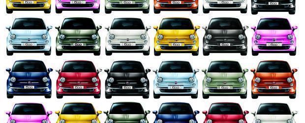 A fost produsa unitatea cu numarul 1.000.000 a modelului Fiat 500