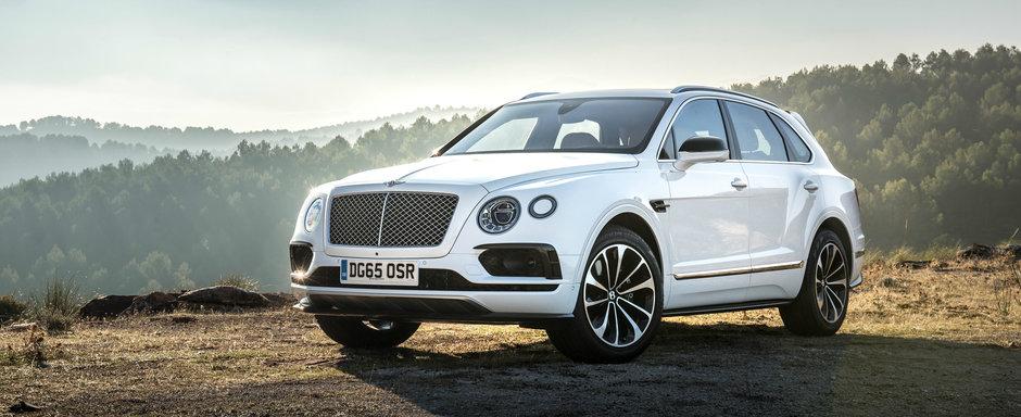 A fost un succes inca de la inceput. Bentley vrea sa extinda si mai mult gama SUV-ului Bentayga