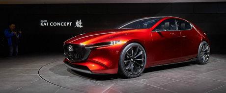 A furat privirile tuturor. Mazda lanseaza conceptul Kai cu motor pe benzina si aprindere prin compresie