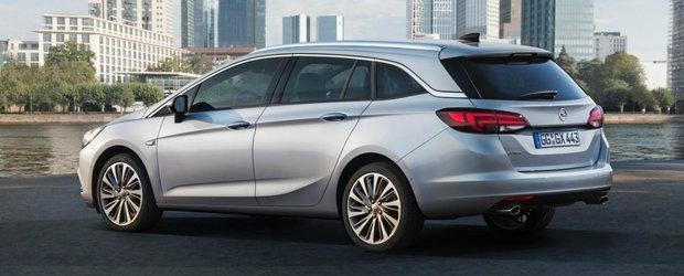 A inceput vanzarea noului Opel Astra Sports Tourer. Cat costa Masina Anului 2016 in varianta Break