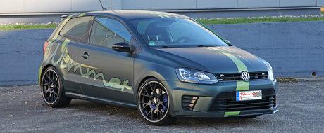 A investit 14.000 de euro in masina lui. Acum conduce un VW POLO unic, cu 420 CP sub capota