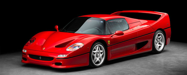 A investit 250.000 de euro in restaurarea unui Ferrari F50. Super masina italiana se vinde acum intr-o stare impecabila
