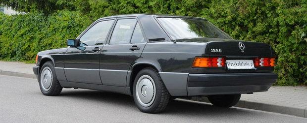 A luat-o in '93, a facut cu ea 3.500 km, iar apoi a inchis-o intr-un garaj. Cu cat se vinde ASTAZI masina Mercedes