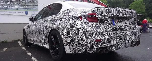 A mai fost elucidat un mister. Uite cum arata interiorul noului BMW M5