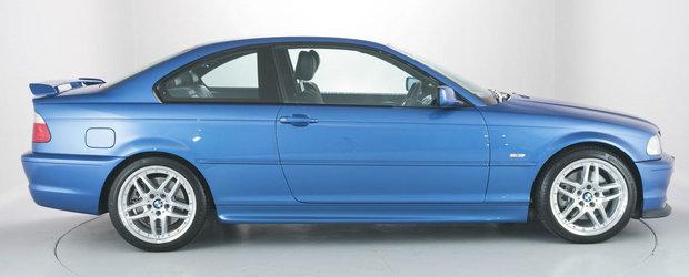 A parcurs doar 5.000 de kilometri in 14 ani. Cu cat se vinde ASTAZI un BMW E46... ca nou