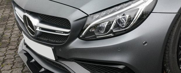 A platit 2.000 de euro numai pe vitezometrul gradat pana la 360 de km/h. Ce modificari mai are acest C63 AMG