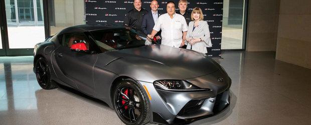 A platit 2.1 milioane de dolari pe prima SUPRA din noua generatie. Masina tocmai i-a fost livrata