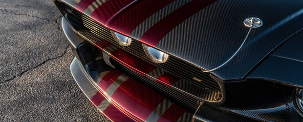 A platit 298.000 de dolari pe un Mustang cu caroserie din carbon si 810 CP sub capota. POZE