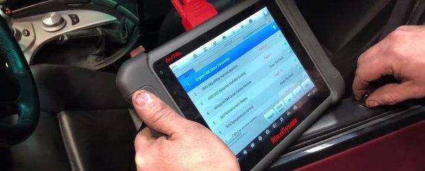A platit 6.500 de dolari pe cel mai ieftin M5 cu motor V10. Cand a ajuns la service pentru verificari...