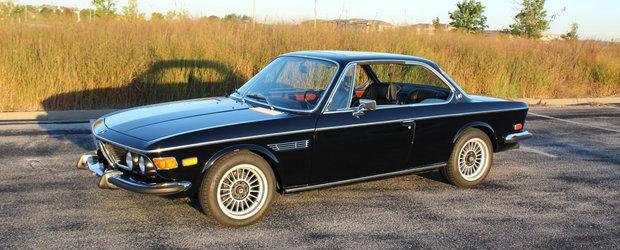 A platit 75.000 de dolari pe un BMW 3.0 CS chiar daca nu este 100% original. Ce motor ascunde sub capota