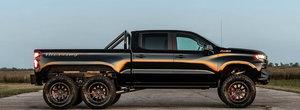 A platit peste 300.000 de euro pe o camioneta cu sase roti. Cum arata noua creatie Hennessey