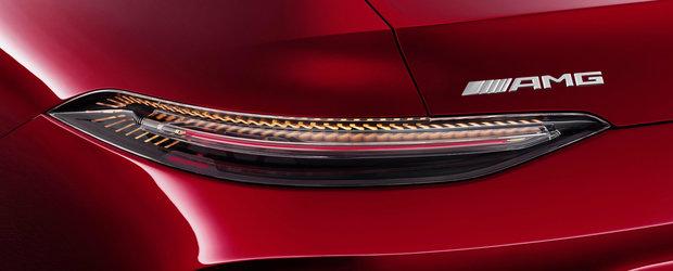 A pozat pe strada noua masina de la Mercedes. Cum arata AMG-ul GT Sedan fara niciun pic de camuflaj