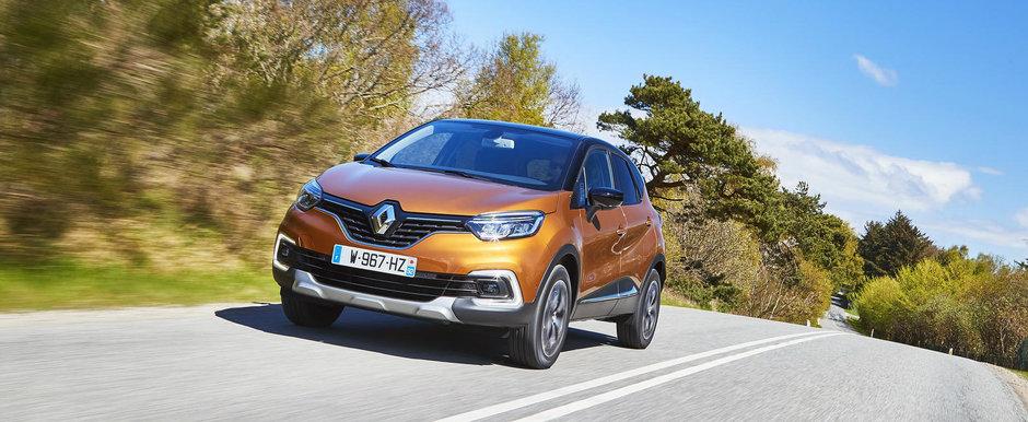A primit de curand un facelift, iar acum este disponibil si in Romania. Cat costa noul Renault Captur