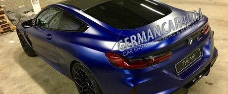 A profitat de neatentia germanilor si l-a pozat complet necamfulat. ACESTA E NOUL BMW M8 COUPE!