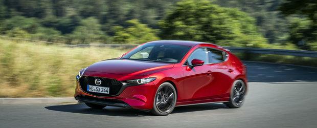 A ratat la mustata titlul de Masina Anului dar nu a plecat acasa cu mana goala. Mazda3 desemnata World Car Design of the Year