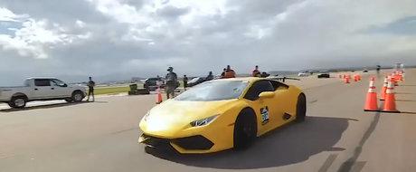A ratat o treapta de viteza si tot a stabilit un nou record mondial. Are 3.000 de cai sub capota