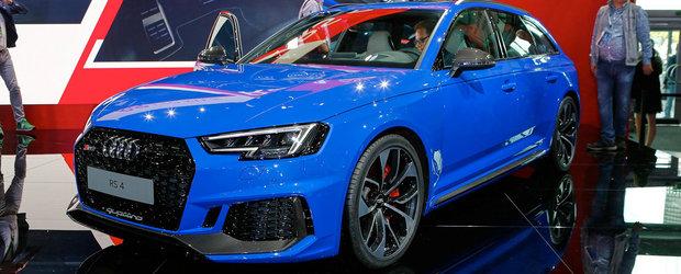 A renuntat la motorul V8, dar nu prea conteaza. Noul Audi RS4 ofera cu 170 Nm cuplu mai mult decat vechiul model