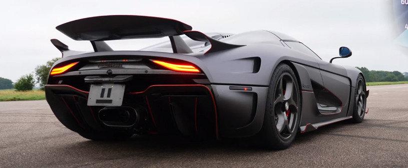 A reusit sa ajunga la volanul unui Koenigsegg Regera. Cum se vede 0-300 km/h din interiorul masinii cu 1500 CP
