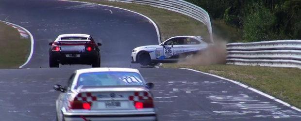 A scapat ca prin minune de un accident la Nurburgring. In urmatorul tur nu a mai avut insa la fel de mult noroc...