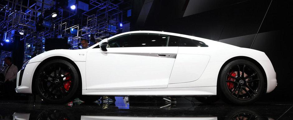 A scapat de tractiunea integrala, dar a pastrat motorul V10. POZE REALE cu singurul Audi spate pe care banii il pot cumpara