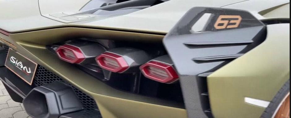 A studiat indeaproape noua masina de 3.6 milioane de dolari de la Lamborghini. VIDEO