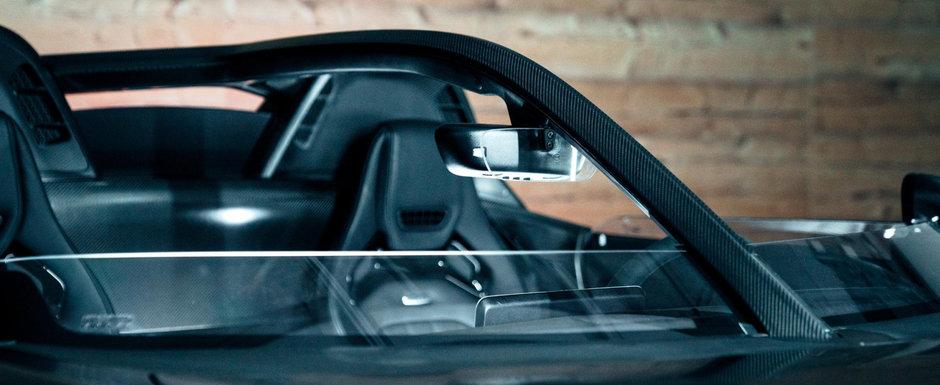 A taiat parbrizul unui Mercedes de peste 173.000 de euro ca sa il faca unic in lume